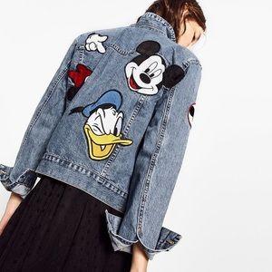 Zara x Disney Denim Jacket
